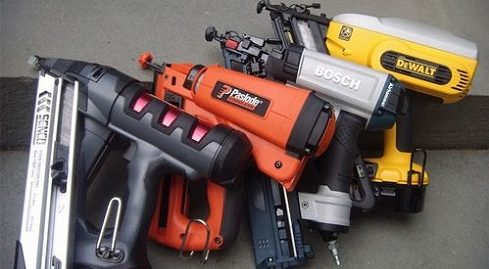 battery operated nail gun