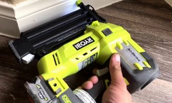 What is battery operated nail gun